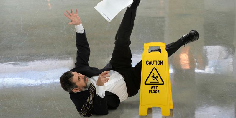 Slip Fall At Work