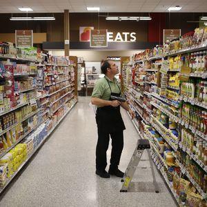 Accident in Supermarket